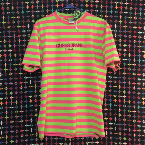 b7d30fba598 nwt guess x sean wotherspoon watermelon stripe s s
